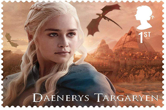 Britain celebrates 'Game of Thrones' with new stamps