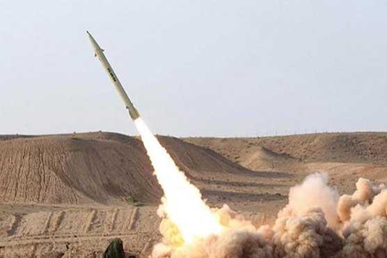 Saudi intercepts ballistic missile near Yemen border: state media