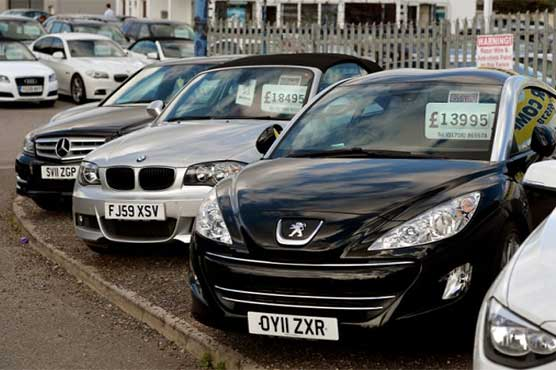 UK car sales fall for first time in six years in 2017