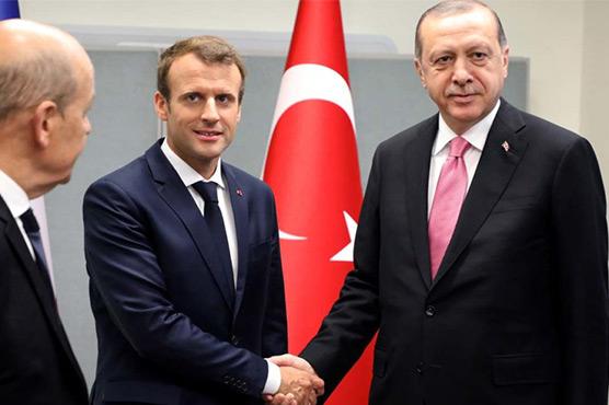 Erdogan seeks reset with Europe on Paris visit