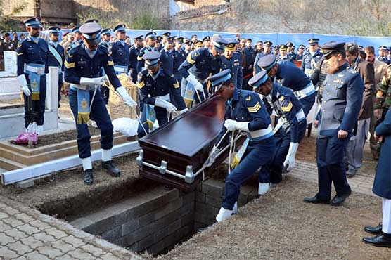 Former Air Chief Asghar Khan laid to rest in Abbottabad