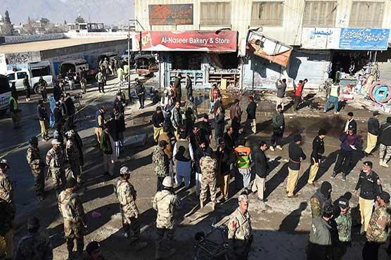 Three blasts hit Quetta