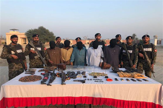 Rangers, police arrest eight suspect terrorists