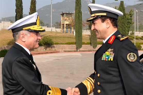 Commander Royal Saudi Naval Forces meets Naval Chief Admiral Abbasi