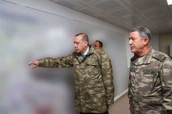 Erdogan vows no let-up in Syria campaign as US tensions rise