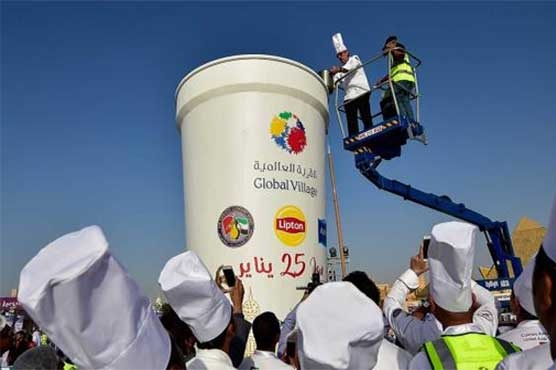 Dubai claims title of 'Largest Cup of Tea in the World'