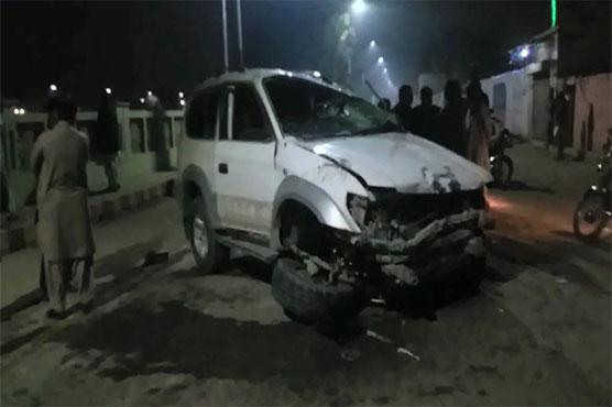 Larkana: Two, killed, six injured as car ploughs into pedestrians