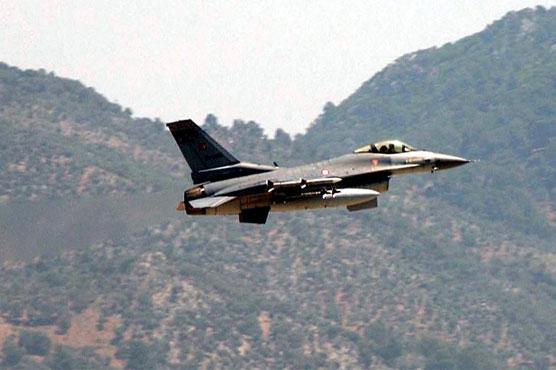 Turkish air strikes pound Kurdish fighters in Syria