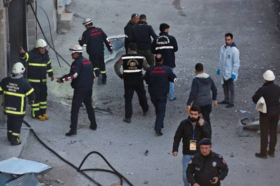 Turkish teen killed as rockets fired from Syria: official