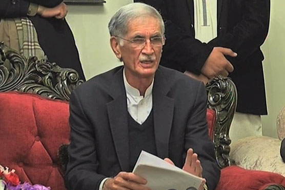 One or two incidents being used for criticism: Pervez Khattak defends KP police