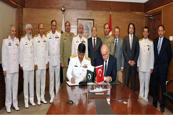 Pakistan to buy four corvette ships from Turkey