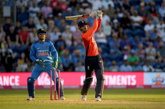 Hales keeps nerve as England square T20 series with India