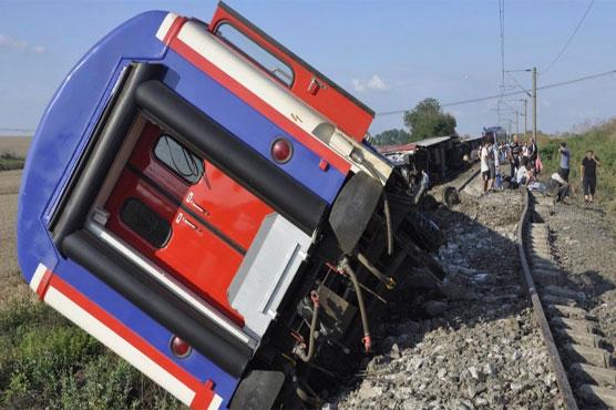 Ten killed, dozens injured in Turkey train derailment