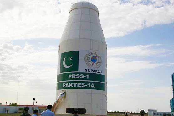 Pakistan launches two satellites from China