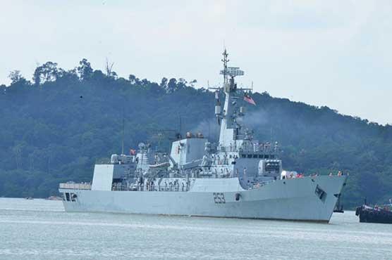 Pak Navy Ship SAIF reaches Saudi Arabia for Regional Maritime Security Patrol