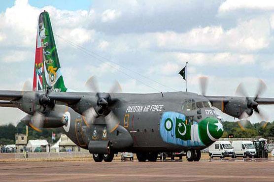 PAF C-130 to participate International Air Tattoo Show