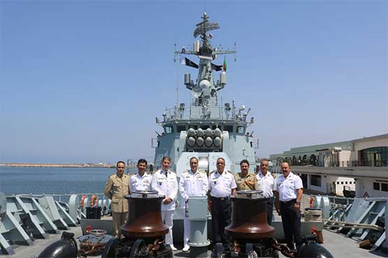 Pakistan Navy ship ASLAT participates in joint exercise in Algeria