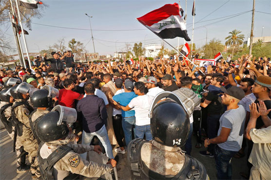 Protests continue in Iraq's Basra over unemployment and poor services