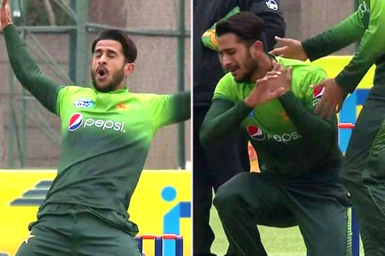 Pakistan bowler injures himself in exuberant wicket celebration