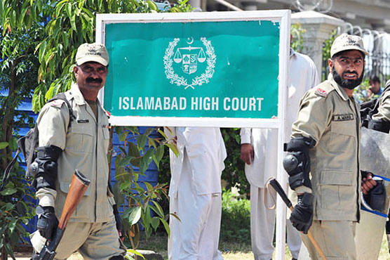 Sharif family's appeals: IHC issues notice to NAB, summons record of Avenfield case