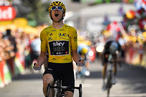 Geraint Thomas won the 12th stage of the Tour de France on Thursday