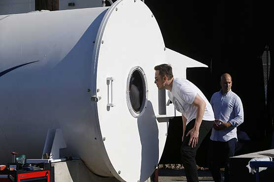 Hyperloop project goes to China