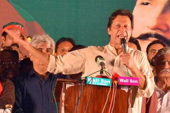 Imran dubs Charter of Democracy 'corruption charter'