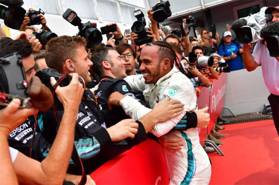 Hamilton rewards Mercedes with epic win in Germany