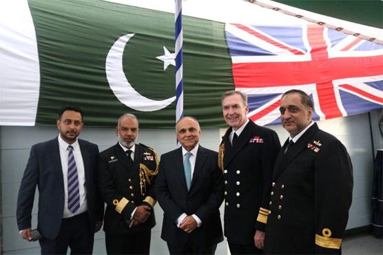 Pakistan Navy ship Aslat visits Portsmouth, UK