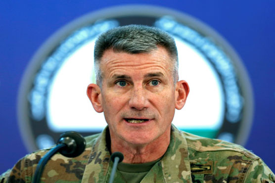 US commanders say Afghan strategy boosting peace hopes