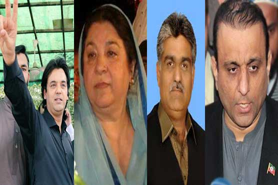 PTI candidates who could have further worsened the defeat of PML-N