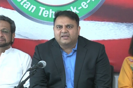 PTI's Fawad Ch claims majority in Centre, Punjab