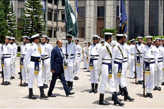 Minister for Defence visits Naval Headquarters