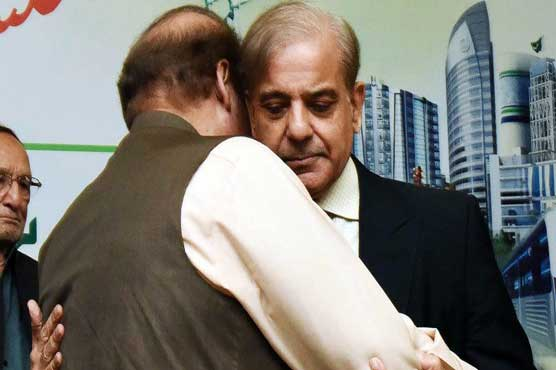 Shehbaz inquires after Nawaz's health at PIMS