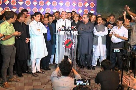 Jahangir Tareen meets MQM-P leadership, invites to join federal government