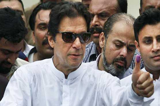 Election 2018: Imran-led PTI in stable position at centre with score of 168