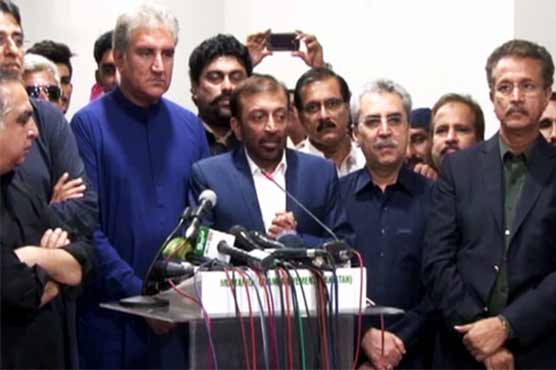 MQM-P puts forward various demands to join PTI-led government