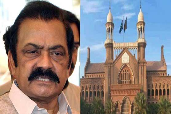LHC moved against Rana Sanuallah's victory notification on NA-106