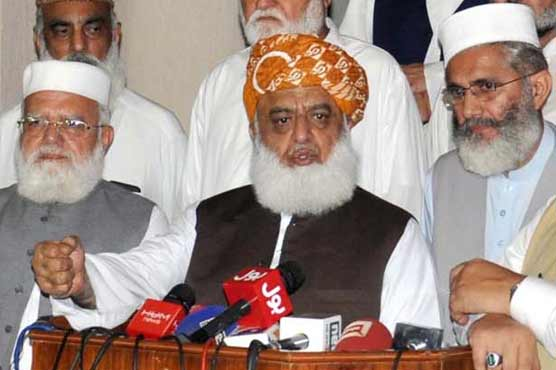 Fazl rejects ECP claim of fair election