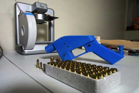 Trump 'looking into' downloadable 3D-printed gun blueprints