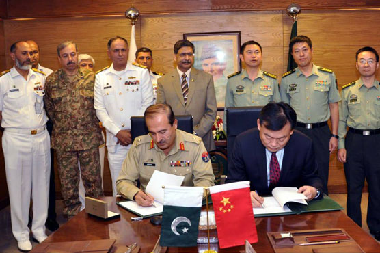 Pak Navy signs agreement to acquire two modern warships from China