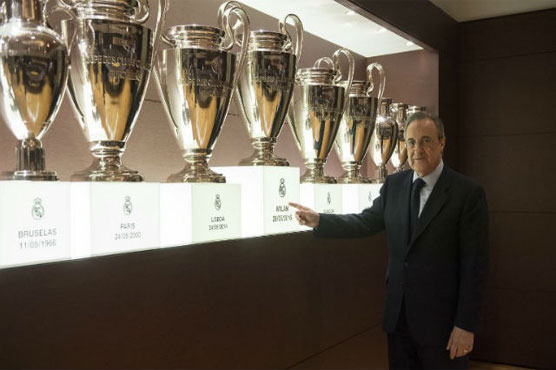 Real Madridu0027s Trophy Cabinet Too Small For 13th European Cup