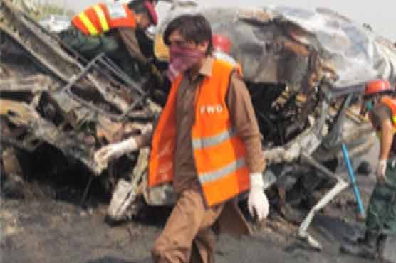 Road accident in Attock leaves eight dead