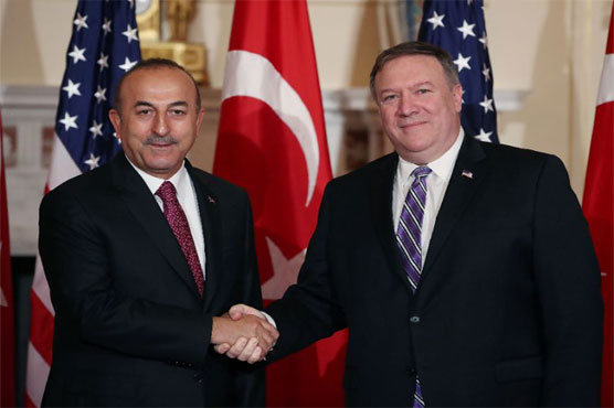 Turkey says Syria road map to 'rebuild mutual trust' with US