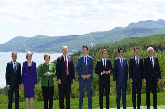 G-7 split over Trump's call to bring Russian Federation  back into club