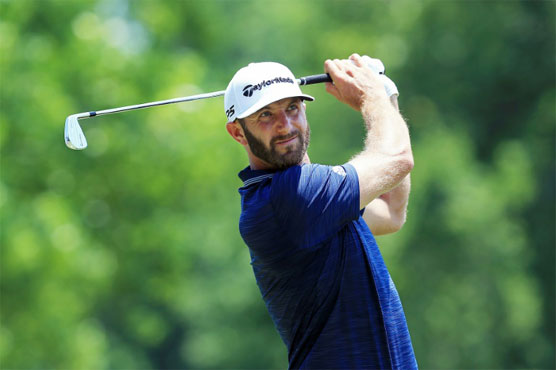 Johnson grabs PGA St. Jude lead