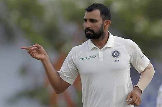 India's unfit Shami out of Afghanistan Test