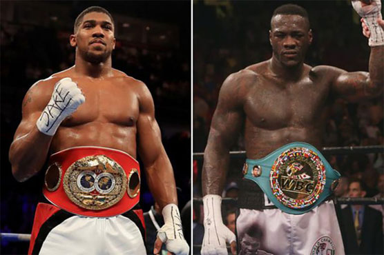 Deontay Wilder agrees to Anthony Joshua fight next in the UK