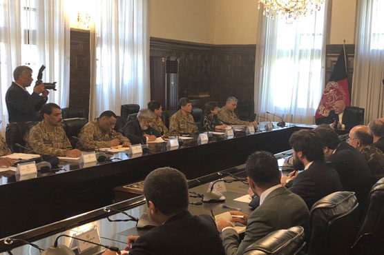COAS holds meetings with Afghan President, Chief Executive, Commander RSM
