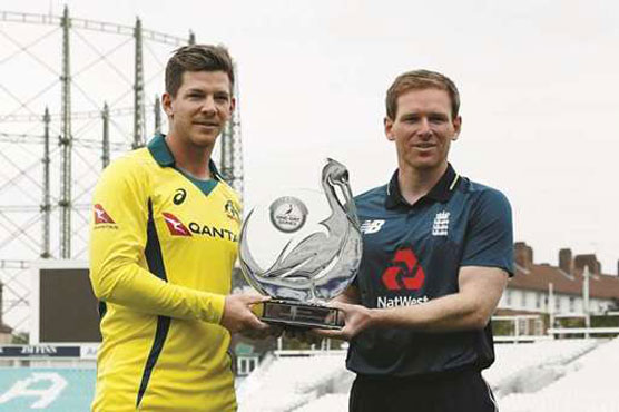 England captain Eoin Morgan excited by Australia series